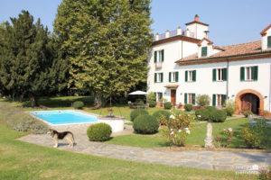 Manor house & pool