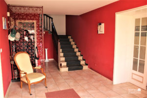 Stairway leading to 1st floor
