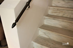 Marble staircase detail